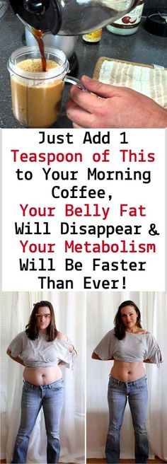 Just Add 1 Teaspoon of This to Your Morning Coffee, Your Belly Fat Will Disappear and Your Metabolism Will Be Faster Than Ever! - Health Beauty Sky Discover how to lose belly fat Diet Drinks, Healthy Drinks, Beverages, Weight Loss Drinks, Weight Loss Tips, Health Benefits, Health Tips, Detox Cleanse For Weight Loss, Burn Belly Fat