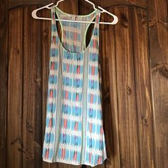 American eagle tank top Perfect condition! Smoke free home American Eagle Outfitters Tops Tank Tops