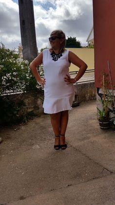 Mary's Big Closet: White Dress