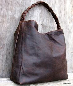Brown Antiqued Leather Bag by Stacy Leigh RESERVED by stacyleigh Mk Handbags,  Purses And Handbags c77a4b65ff