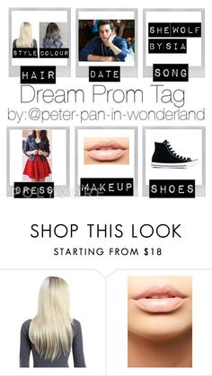 """My prom"" by miaagustus ❤ liked on Polyvore featuring MDMflow and Converse"