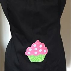 Brand New Women's Apron/ Mother's Day Sales  This women's apron has designed by a piece of cupcake, you can use for every place and job, also this apron has made65% polyester and 35% cotton , this apron has good quality that means you can wash & use several times / I should mention that this item will be good gift for this coming mother's day Other