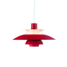 Louis Poulsen PH 50 Pendant Chili Red, $998, now featured on Fab.