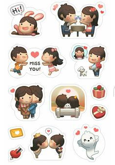 HJ-STORY stickers ❤ Love is ❤