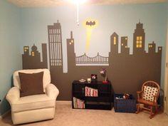 Weston's super hero room!