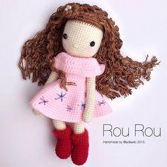My Crochet Doll no. 15 @ Rou Rou 柔柔 -,Curly Hair Look