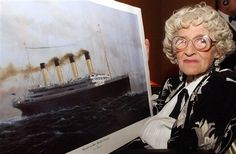 The Last Titanic Survivor Dies    At 97, Millvina Dean was the last person to pass away from the Titanic when she died in her sleep this past Sunday. Millvina rode the boat in steerage with her mother and father and survived by being wrapped in a sack and lowered into a lifeboat. She died in Southampton, England.