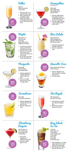 summer cocktails and Drink ideas alcohol Bar Drinks, Cocktail Drinks, Alcoholic Drinks, Cocktail List, Beverages, Simple Cocktail Recipes, Coctails Recipes, Shot Recipes, Alcohol Drink Recipes