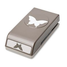 KreatesKards: Elegant Butterfly Paper Punch.  It has a stamp set that coordinates with it.
