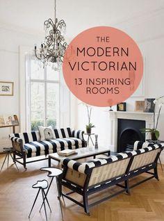 13 Inspiring Rooms: The Modern Victorian stylish patina, falls church va, www.stylishpatina.com
