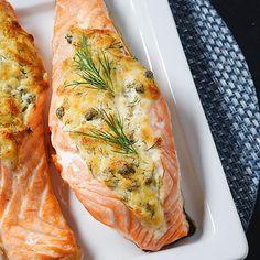 Fish Recipes, Seafood Recipes, Cooking Recipes, Healthy Gourmet, Healthy Recipes, Seafood Dishes, Winter Food, I Love Food, Soul Food