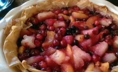 This Foxy Cuisine Original recipe brings frozen fruit and filo dough together for one lovely fruity pie.