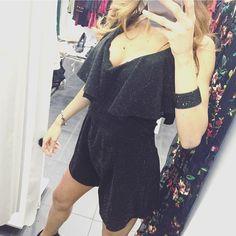 Reposting @chloroma301: Chló Roma⭐️. Via cola di Rienzo 301 (abbigliamento donna), via cola di Rienzo 265/A (calzature). NUOVI ARRIVI!!! 🎁 Tutina intera nera brillantinata!! . #dress  #silver #party #fashion #style #love #me #cute #night #photooftheday  #beautiful #instagood #pretty #swag  #girl #girls  #model #dress #styles #outfit #purse #shopping #glam