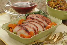 Crock Pot/Slow Cooker Turkey Breast with Carrots & Cranberry Gravy (dialysis friendly)