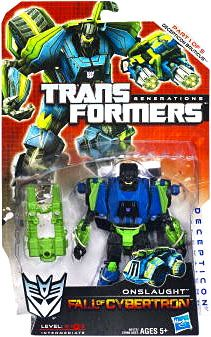 Onslaught Action Figure Fall of Cybertron Deluxe Transformers