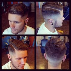 I want Cody to get a cut like this so bad except not as short on the sides