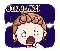 Cute expression korean Korean Stickers, Emoji Stickers, Kawaii Stickers, Cute Stickers, Korean Expressions, Anime Expressions, Cute Images, Funny Images, Korean Lessons