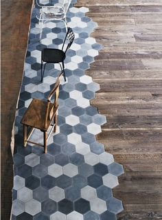 Hex tile plus wood
