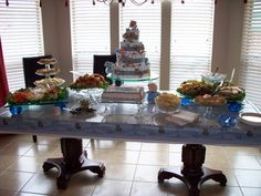 Baby shower for my Great-Nephew