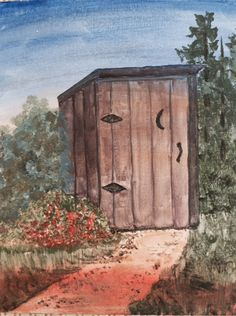 This Old House Acrylic on canvas board. plus shipping Canvas Board, Old Houses, Real Life, Paintings, Art, Art Background, Paint, Old Homes, Painting Art