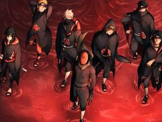Leaf Ninja in Akatsuki robes Naruto Uzumaki, Madara Susanoo, Obito Kid, Kakashi And Obito, Akatsuki, Wallpapers Naruto, Naruto Wallpaper, Naruto Clothing, Rukia Bleach