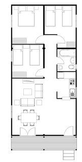 Planos casas de madera prefabricadas plano de casa prefabricada proyectos pinterest - Planos de casas de madera gratis ...