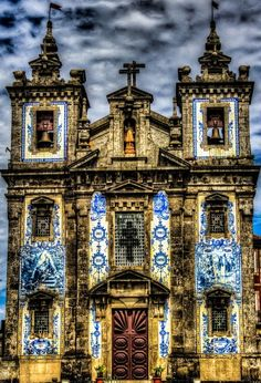 Church of Saint Ildefonso. Visit Portugal, Spain And Portugal, Most Beautiful Cities, Beautiful World, Portugal Holidays, Douro Valley, Weekend Trips, Best Cities, Pilgrim