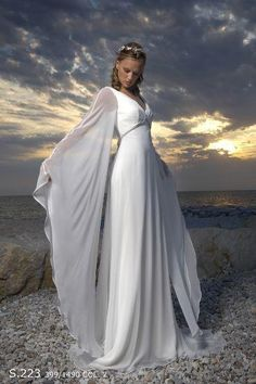 beautiful medieval dress