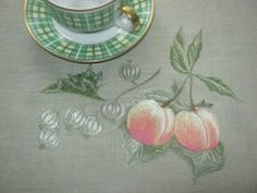 Naturemort Naturemort – remind about taste food and warm feast. Artist Polina Volynskaya
