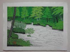 Kazuyuki Ohtsu Woodblock Prints Current Inventory – Bassett Fine Prints