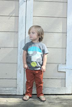 mini Boden inspiration.  Painted tee