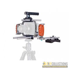 Buy Wondlan BMCC rig standard 2 At Rs.63,800 Highlights :- Top and bottom rods provided for optical center, Specially designed for Black Magic Cinema Camera Cash on Delivery Hassle FREE To Returns Contact # (+92) 03-111-111-269 (BnW) Email :- info@bnwcollections.com #BnWCollections #Wondlan #BMCC #rig #standard_2
