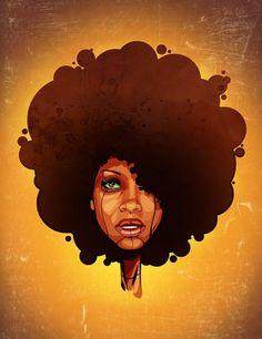 DJ LO DOWN LORETTA BROWN   aka Erykah Badu.     (artist unknown)