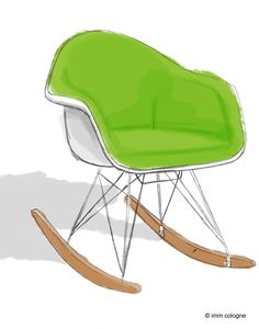 Rock Chair by Charles and Ray Eames