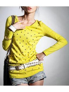 Studded Star Sweater