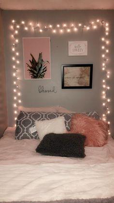 Podría ser Cute Bedroom Decor, Room Design Bedroom, Girl Bedroom Designs, Stylish Bedroom, Room Ideas Bedroom, Teenage Room Decor, Bedroom Decor For Teen Girls, Cozy Room, Room Inspiration