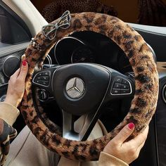 "1pc Chic Car Auto Steering Wheel Cover Purple Flower 15/"" 37-38CM Universal"
