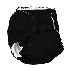 Rumparooz One Size Cloth Pocket Diaper Snap, Phantom