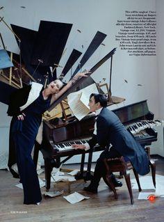 Kate Moss & John Galliano by Tim Walker