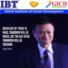 success quotes by Jack ma Career Development, Facebook Sign Up, Never Give Up, Success Quotes