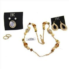 6 Pieces of Designer Jewelry (Charter Club/INC) - Retail: $120. | Property Room