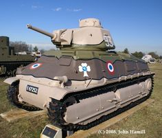 French Tanks of World War II: Somua S-35, Possibly the best French tank of the 1940 campaign