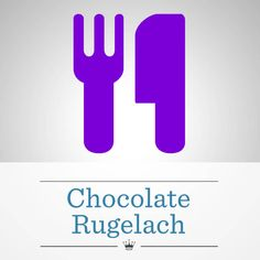 baking rugelach is a big production! Try our easy Chocolate Rugelach ...