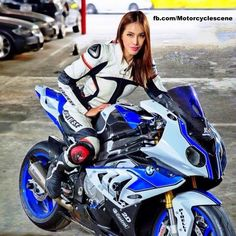 Chicks on bikes Bmw Sport, Moto Bike, Motorcycle Bike, Lady Biker, Biker Girl, Album Photo Cewe, Motos Sexy, Suzuki Motos, Chicks On Bikes