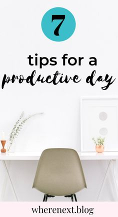 Starting your day the right way is vital for setting yourself up for a productive day. Check out these top tips on how you can start your day the right way and be your most productive!