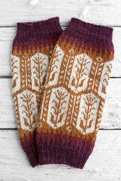 Ballston Legwarmers by Erin Schrader shown in Silk Blend 300 M Bing CHery, Crochet Cross, Knit Or Crochet, Knitting Socks, Free Knitting, Fair Isle Knitting Patterns, Knitted Booties, Yarn Inspiration, Knitting Projects, Knitwear