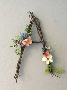Woodland Nursery Letter Twig Letter Twig Monogram Rustic Wall Letter Rustic Letter Baby Girl Nursery Woodland Nursery Fairy Decor Rustic Home Decor Baby Decor Fairy girl Letter Monogram Nursery Rustic Twig Wall Woodland Rustic Wall Letters, Letter Wall, Letter Monogram, Diy Letters, Flower Letters, Letter Wreath, Wall Letters Decor, Decorating Letters, Letter Board