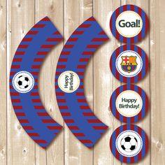 Imprimibles de Barcelona. Toppers de Barcelona y por Pipetua