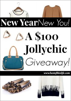 New Year, New You! $100 Jollychic Giveaway  I SO want to win!