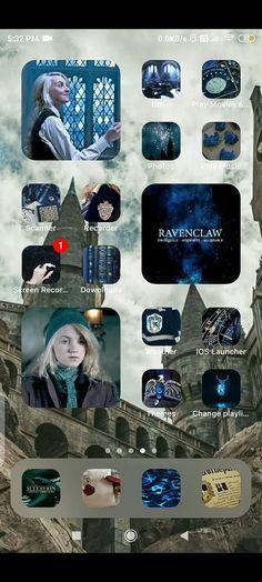 Ios, Harry Potter Wallpaper, Ravenclaw, Homescreen, Play, Organization, Iphone, Desktop Organization, Backgrounds